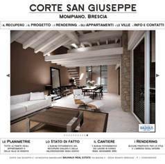"""""""Corte San Giuseppe"""" ristrutturazione edificio agricolo a corte per appartamenti, Brescia"""