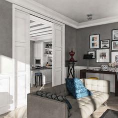 Appartamento in stile eclettico