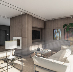 Appartamento contemporaneo open space