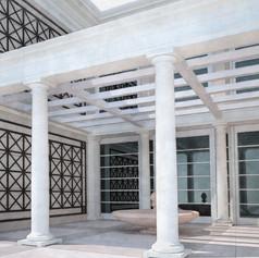 Progetto ingresso villa a Mosca, Russia