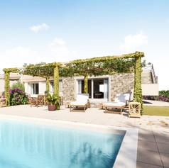 Villa vacanze con piscina, Porto Pozzo, Sardegna