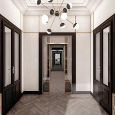 Appartamento in stile Art Déco