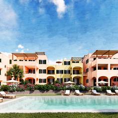 Residence vacanze con giardini e piscina, Borgio Verezzi, Savona