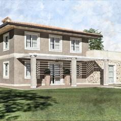 Progetto per villa bifamiliare