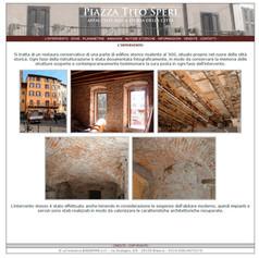 """""""Palazzo Tito Speri"""", edificio storico privato, Brescia"""