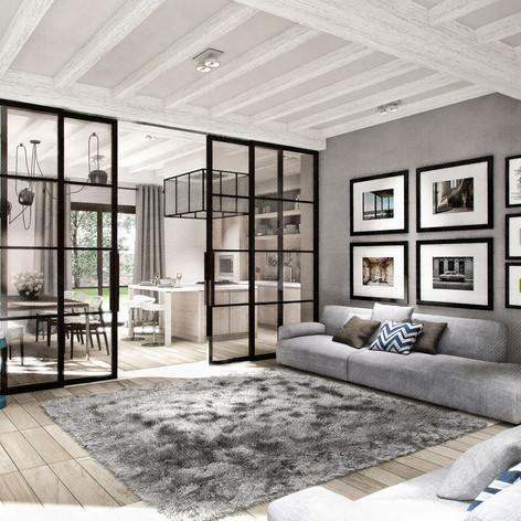 Appartamento in stile nord-europeo