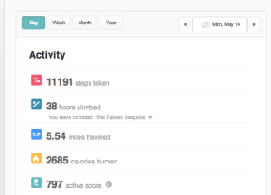 FitBit activity monitor: I'm a believer
