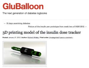 GluBalloon Insulin Dose Tracker