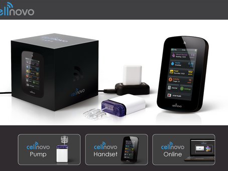 """Cellnovo: """"Mobile-connected diabetes management system"""""""