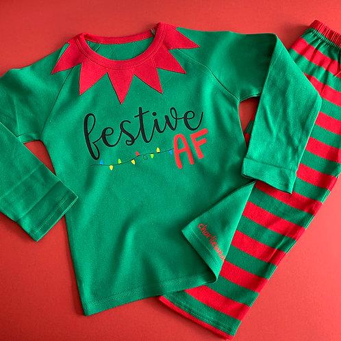 XMAS - Elf Pyjamas