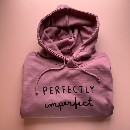 Perfectly Imperfect Adult Hoodie