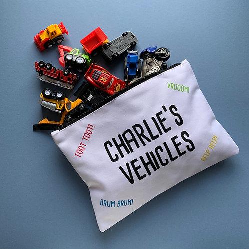 Personalised Vehicle Bag