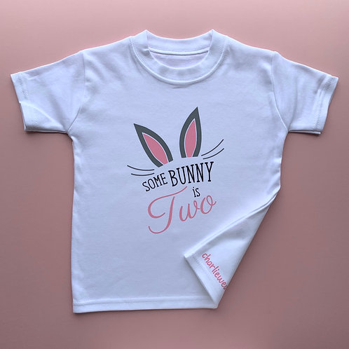 Some Bunny Is *** Tee