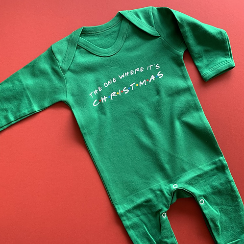 Baby Sleepsuit - CHRISTMAS