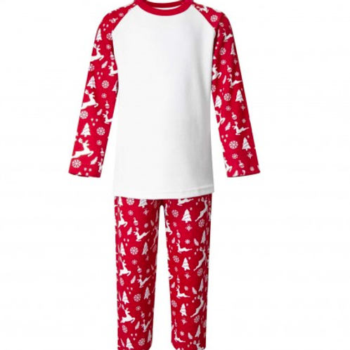 XMAS - Adult Red Reindeer Pyjamas