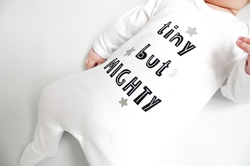 Tiny But Mighty Sleepsuit