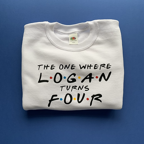 Friends Birthday Sweatshirt