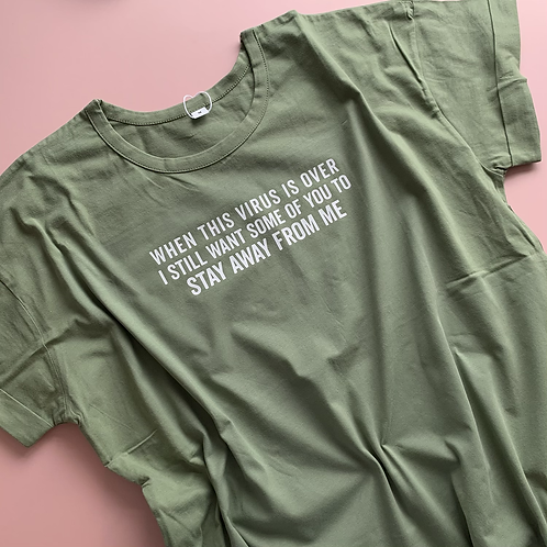 When This Virus Ends Adult Tee