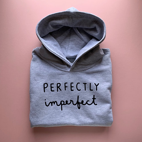 Perfectly Imperfect Kids Hoodie