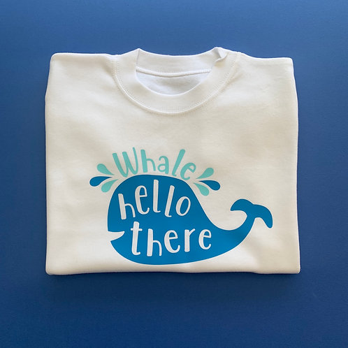 Whale Hello There Tee