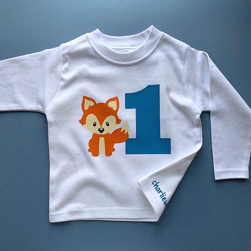 Fox Birthday Tee