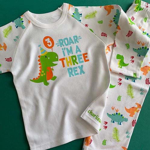 Three Rex Pyjamas