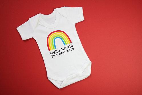 Hello World Rainbow Vest