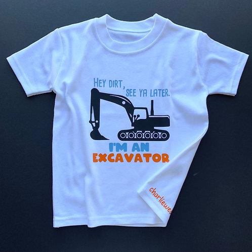 I'm an Excavator Tee