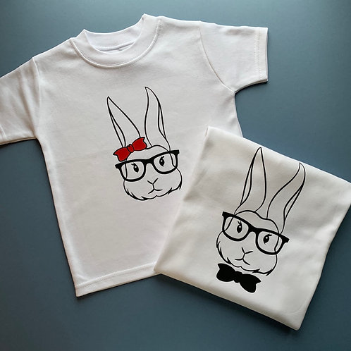 Girl/Boy Bunny Tee