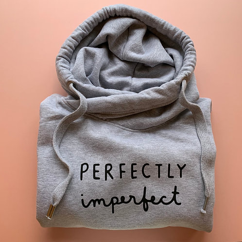 Perfectly Imperfect Cross Neck Hoodie
