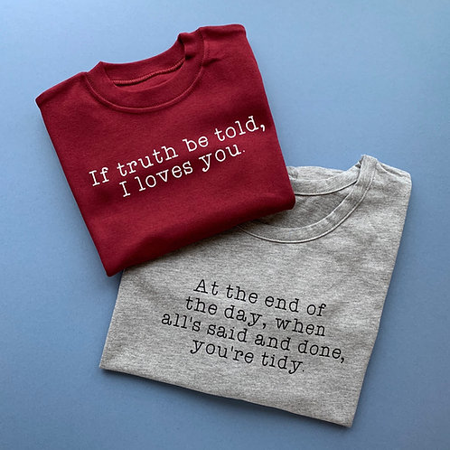 You're Tidy Tee