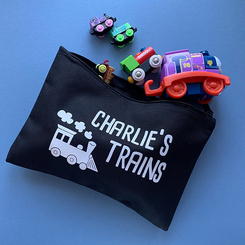 Personalised Train Bag