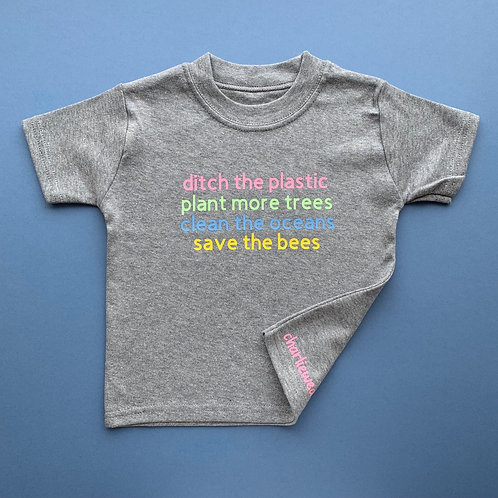 Ditch The Plastic Tee