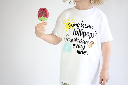 Sunshine Lollipops Tee