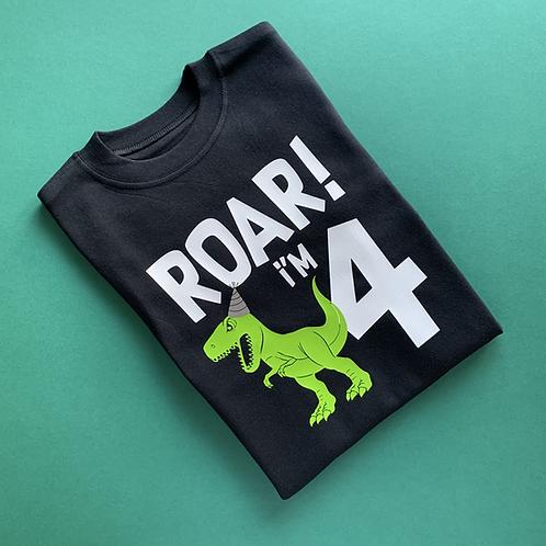 Roar! I'm **** Kids Tee