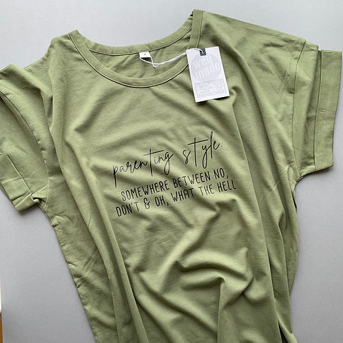 Parenting Style Adult Tee