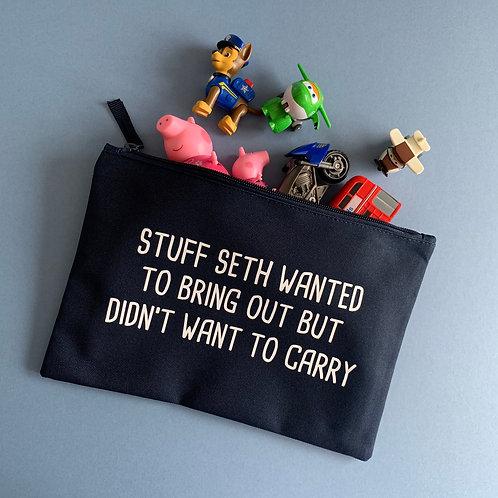 Personalised 'Stuff' Bag