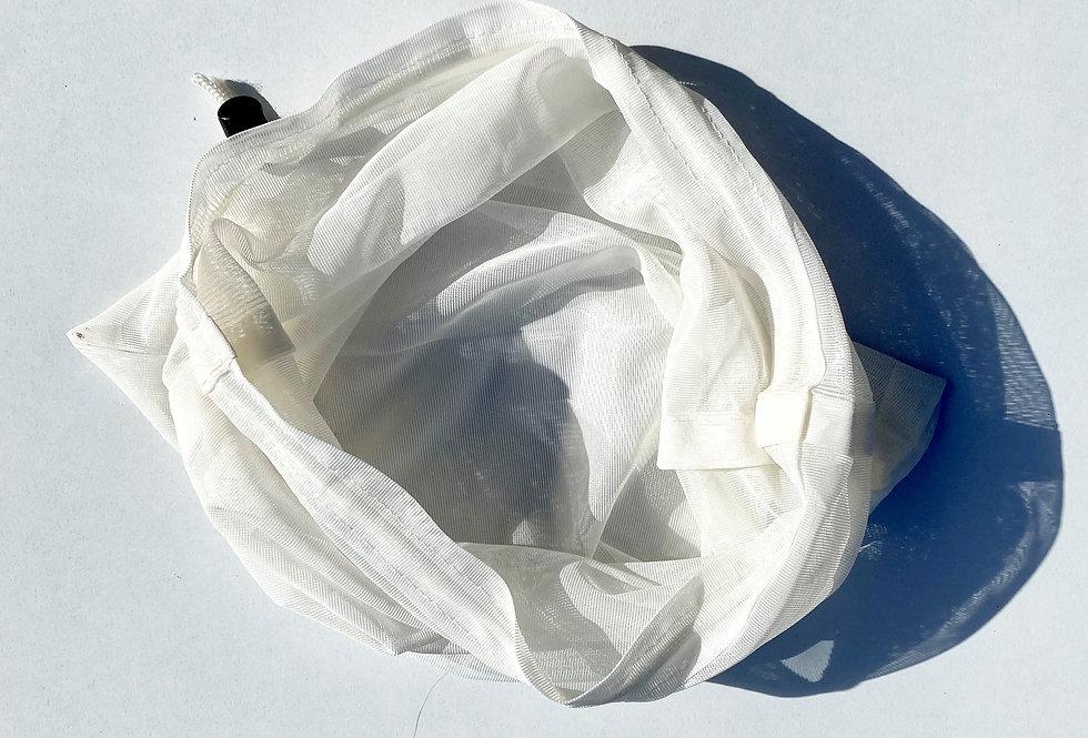Handmade Mesh Wash Bag