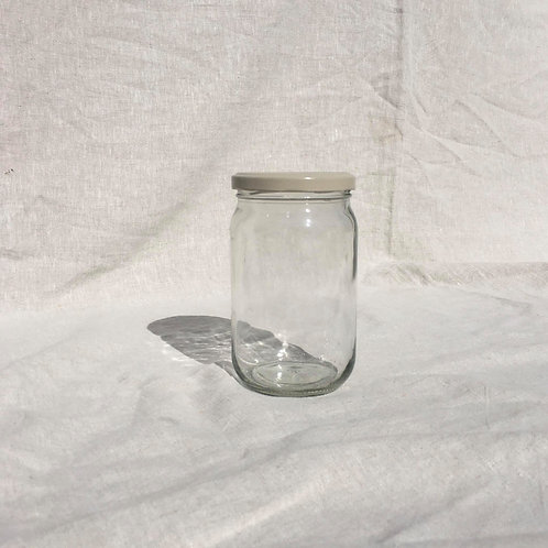 Upcycled 750g Glass Storage Jar