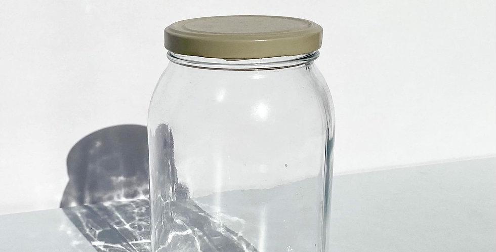 Upcycled 2kg Glass Storage Jar