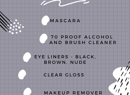Inventory Check List | Downloadable | Philly MUA | Makeup Artist | Natty Contrera | In Your Kit