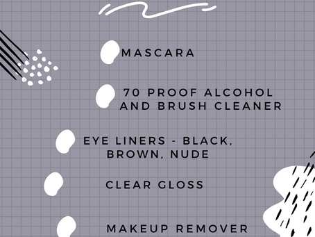 Inventory Check List   Downloadable   Philly MUA   Makeup Artist   Natty Contrera   In Your Kit