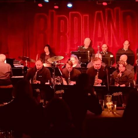 Playing with the Birdland Big Band