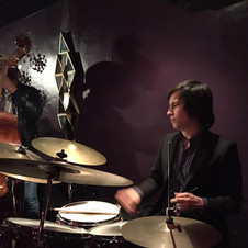 Playing drums for Alexis Cole @ Maureens Jazz Cellar