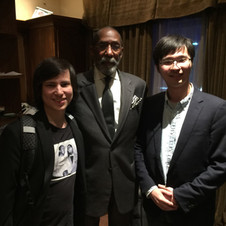 """With """"Maestro"""" Ron Carter"""