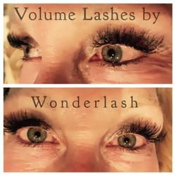 Volume Lashes @WonderlashLA