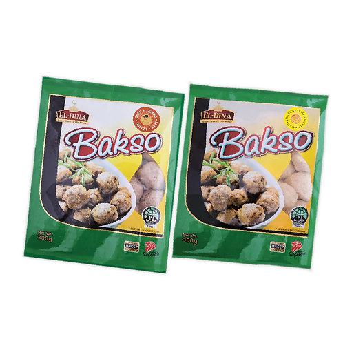 [Frozen] EL-Dina Beef/Chicken Bakso 300g Halal
