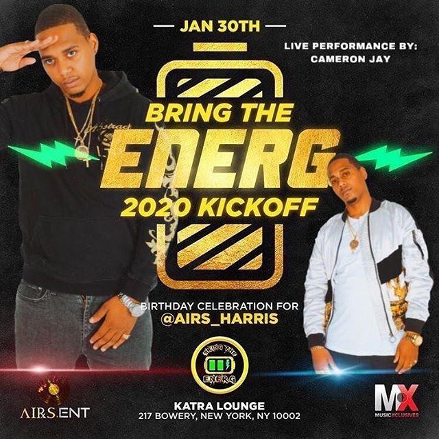 Bring The Energ    2020 Kick Off