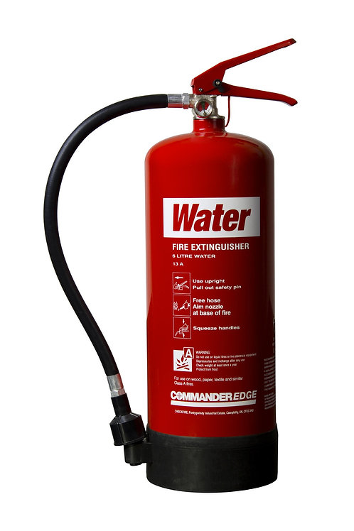 6ltr Water Spray Commander EDGE Fire Extinguisher