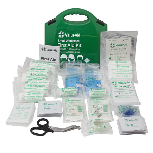 Workplace First Aid Kit- Compliant to BS8599-1 (Essential Box)